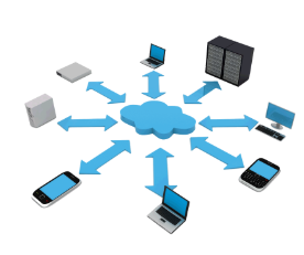 Picture of a Network with devices